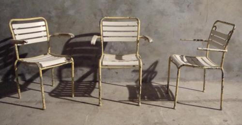 Bigla Embru mobilier tubulaire vintage d exterieur Suisse