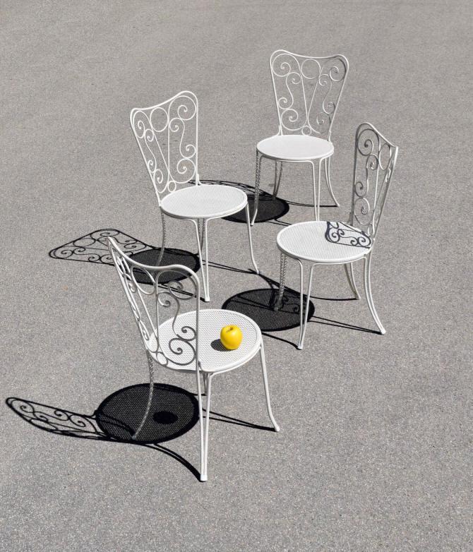 Chaises En Fer De Jardin Romantiques 35qarcls4j XiPkuTOZ