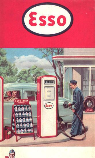 Old garage factory gas station for Garage ad valence