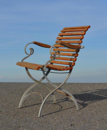 Stunning fauteuil de jardin bois et fer forge contemporary for Fly mobilier de jardin