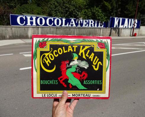 Souvent plaques émaillées publicitaires anciennes et réclames vintage CO77