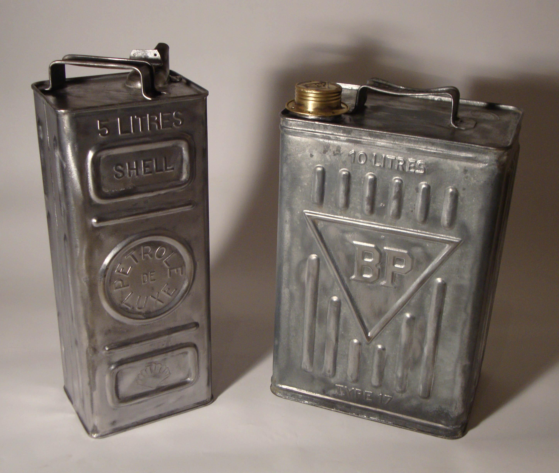 Antiquit s industrielles objets - Bidon de petrole ...