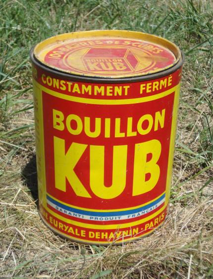 Boite bouillon cube ancienne