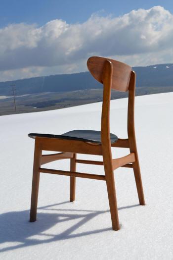 Farstrup Furniture Danish Teak Dining Chairs Model 210