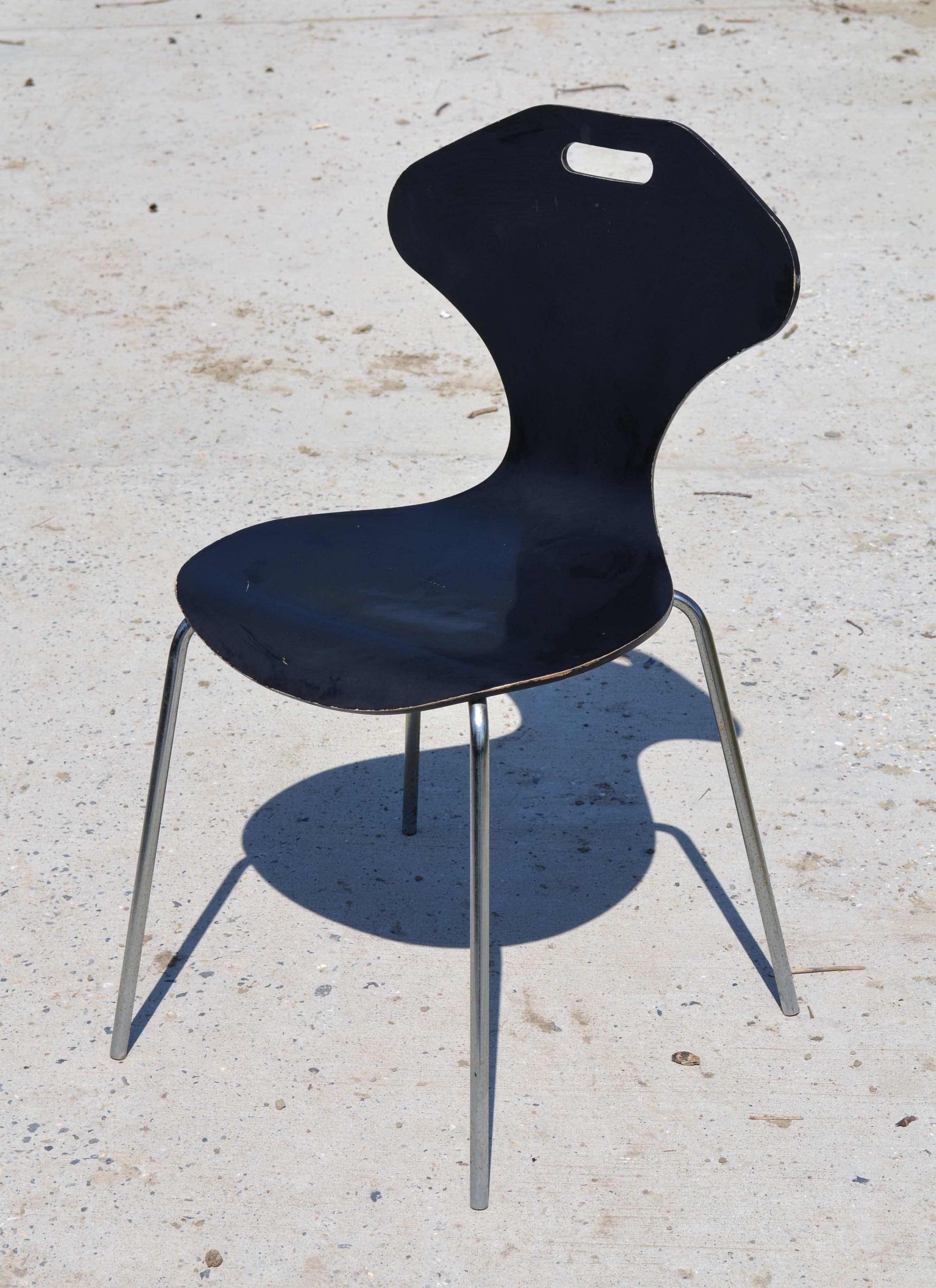 Si ges design vintage des ann es 1950 1970 for Chaise a trou