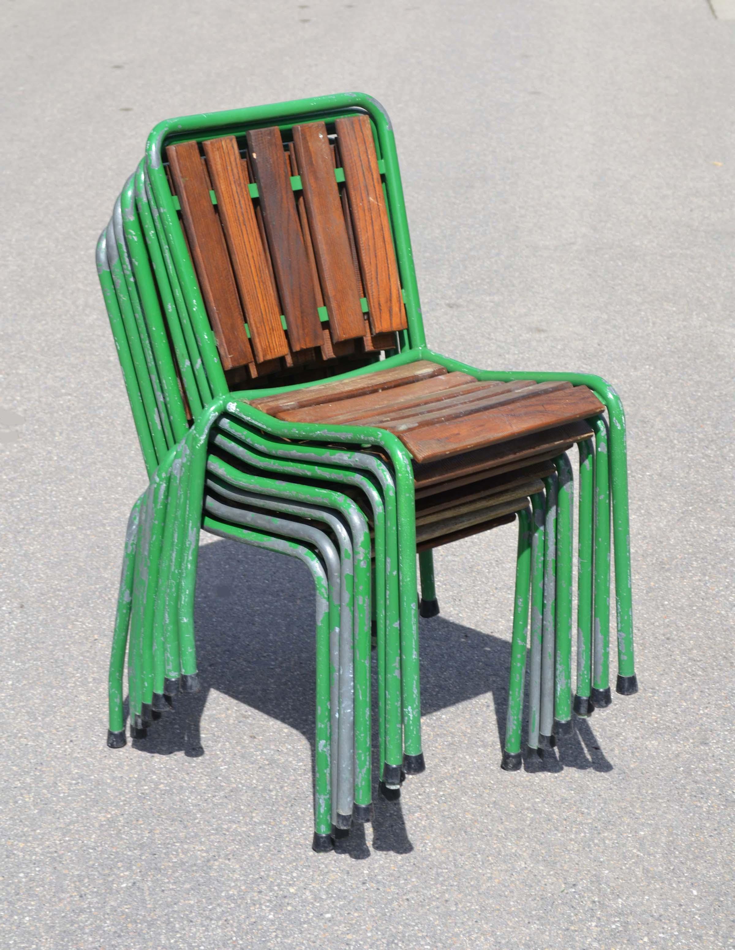Embru Bigla Mobilier D Ext Rieur Tubulaire Vintage Suisse # Table De Jardin Bigla