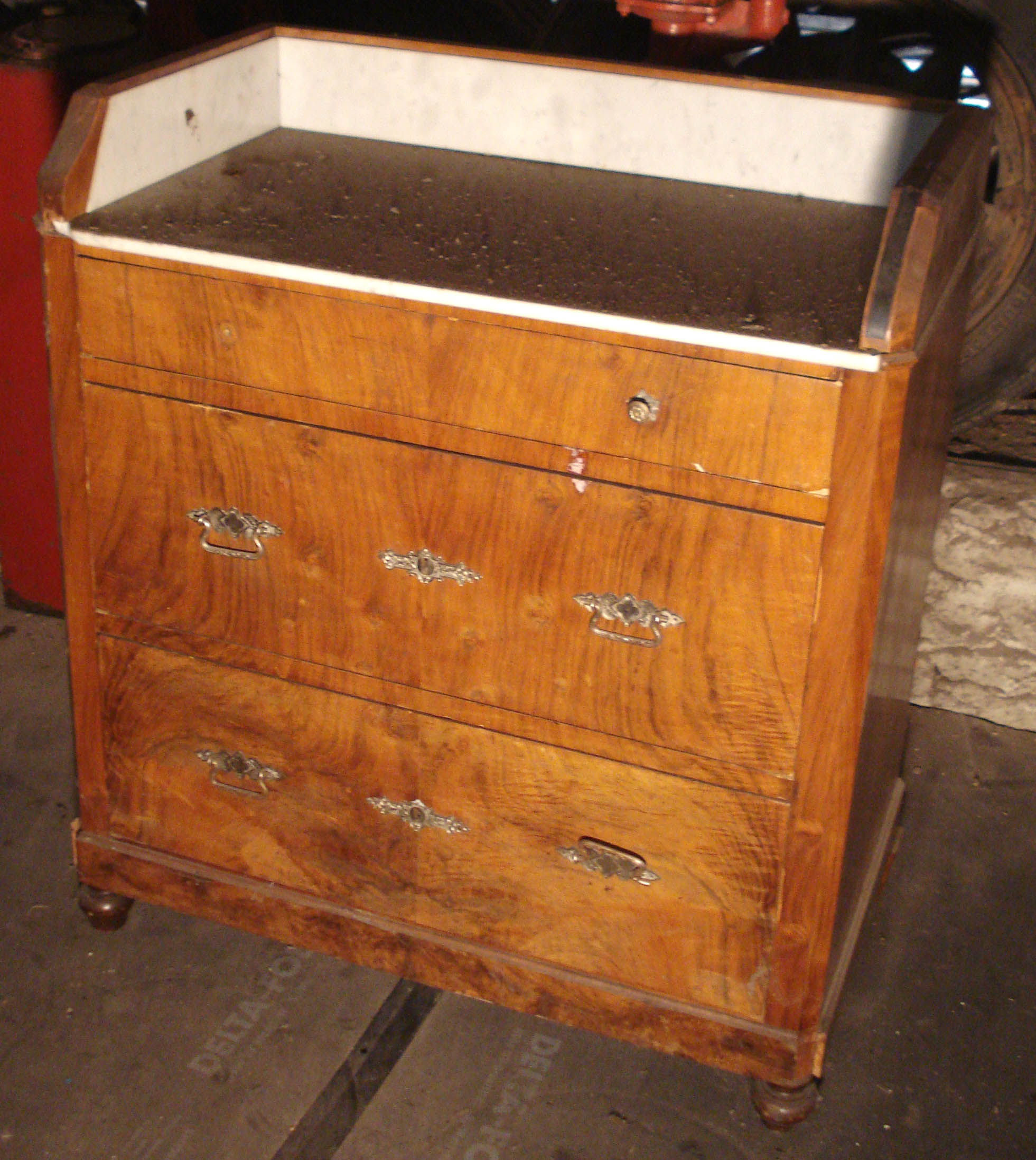 commode ancienne portes