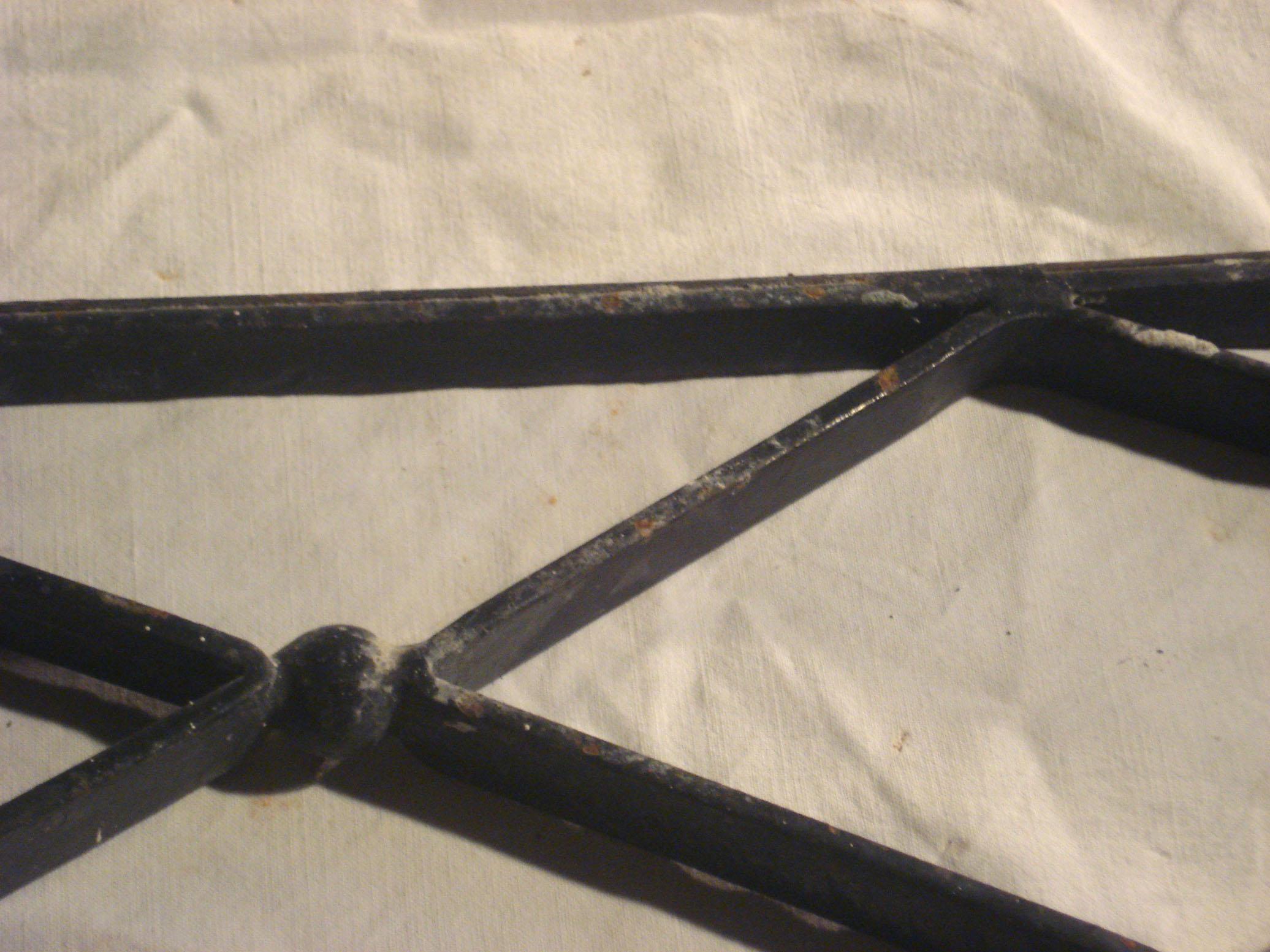 Garde corps de fen tres for Fenetre losange