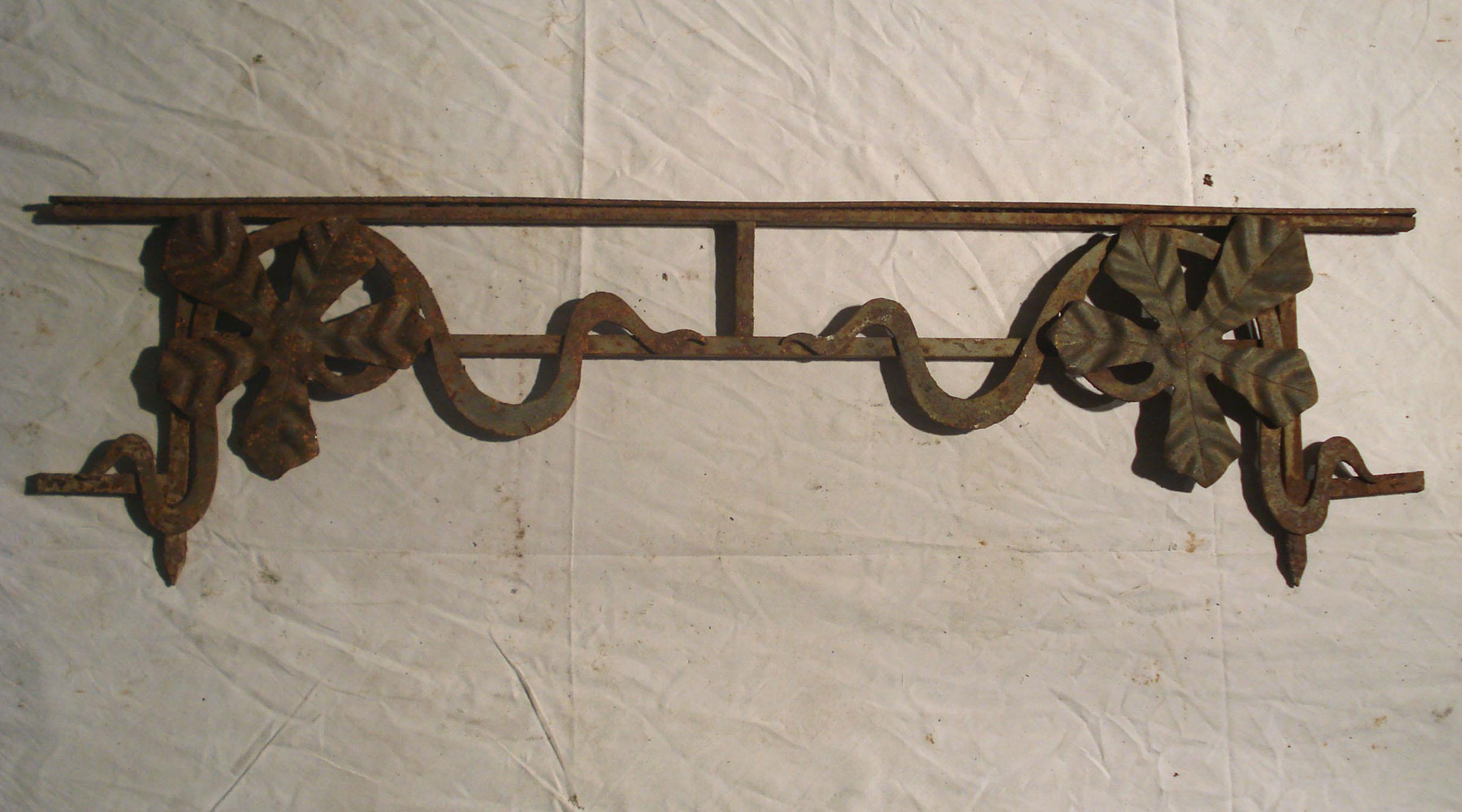Garde corps de fen tres for Art nouveau fenetre