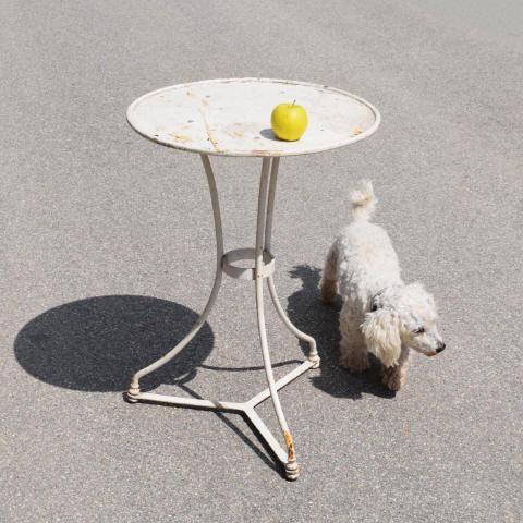 Petite Table De Jardin En Fer