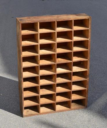 Meuble casier bois avec les meilleures collections d 39 images - Casier rangement visserie ...