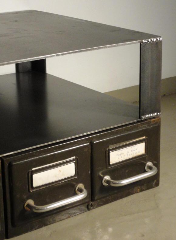 Mobilier et d coration de style post industriel copie de - Tole acier 5mm ...