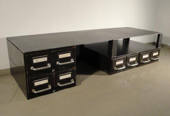 Meuble Tv Bas Modulable : Mobilier Et Décoration De Style Post-industriel, Copie De Mobilier