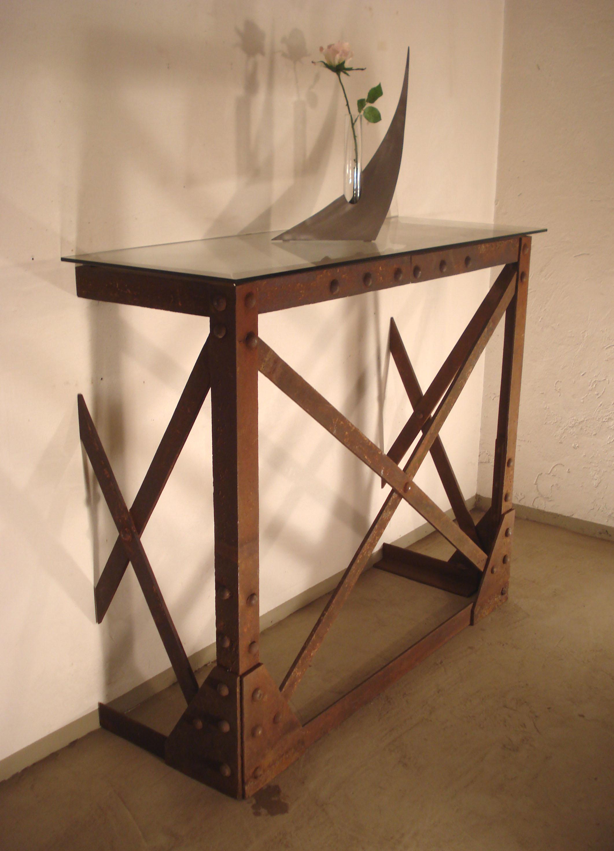 meuble tv usine deco: feu pieton usa industriel usine deco art ... - Meuble Design Usine
