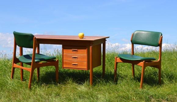 Mobilier design vintage scandinave chaises et meubles en for Mobilier en suisse