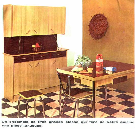 Mobilier vintage en formica le style populaire des ann es 1960 for Cuisine formica annee 60