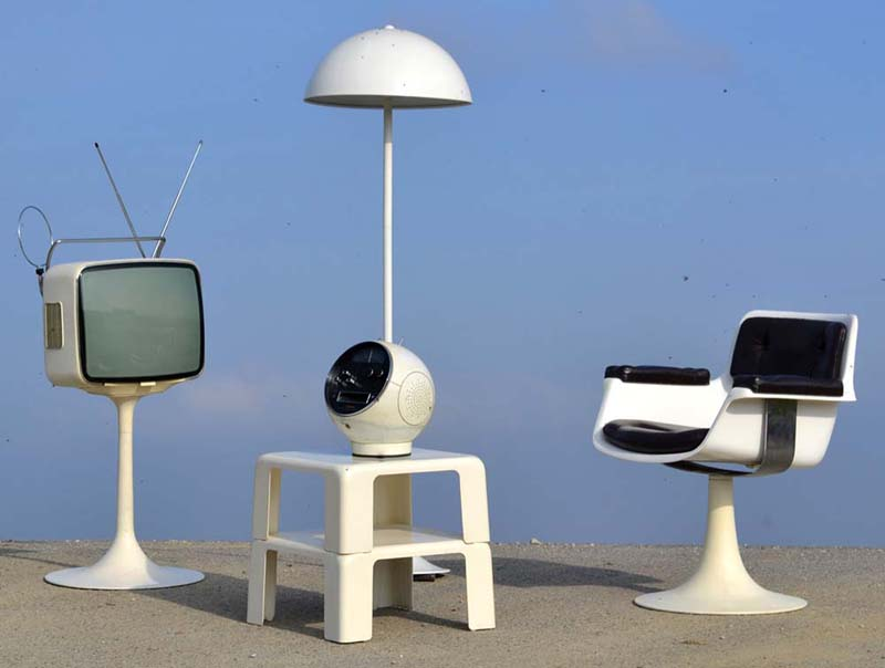 design vintage 1960 70 divers meubles et objets de lpoque phare du design moderne pop et space age siges lampes tv - Meuble Design Vintage