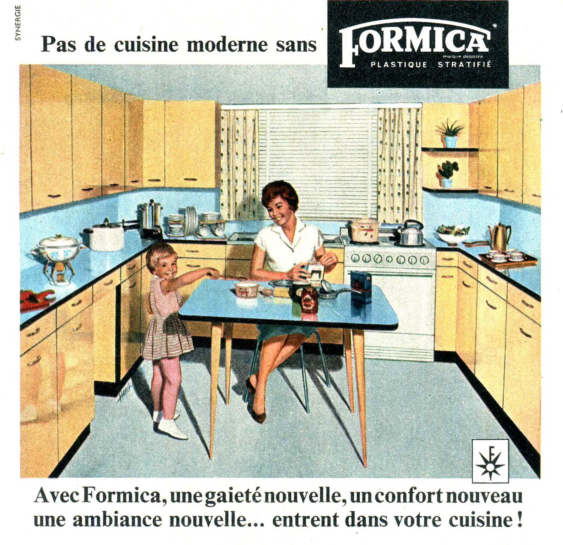 mobilier vintage en formica le style populaire des années 1960