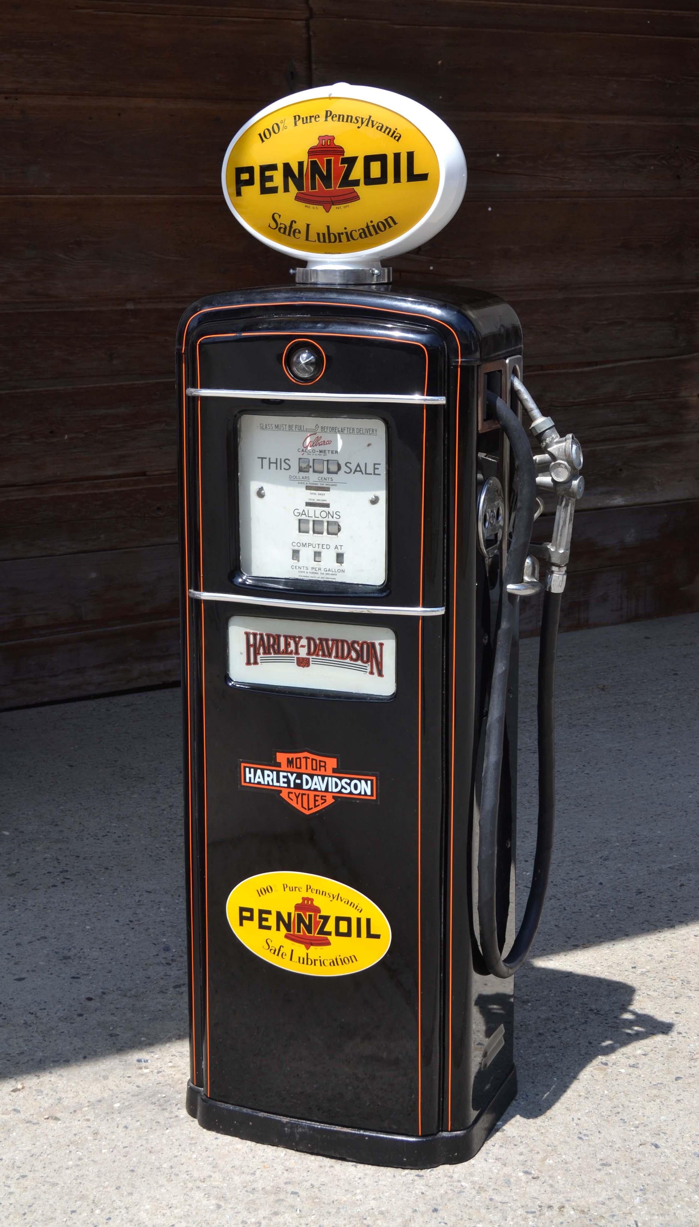 Objets vintage des ann es 1950 60 - Pompe a essence americaine ...