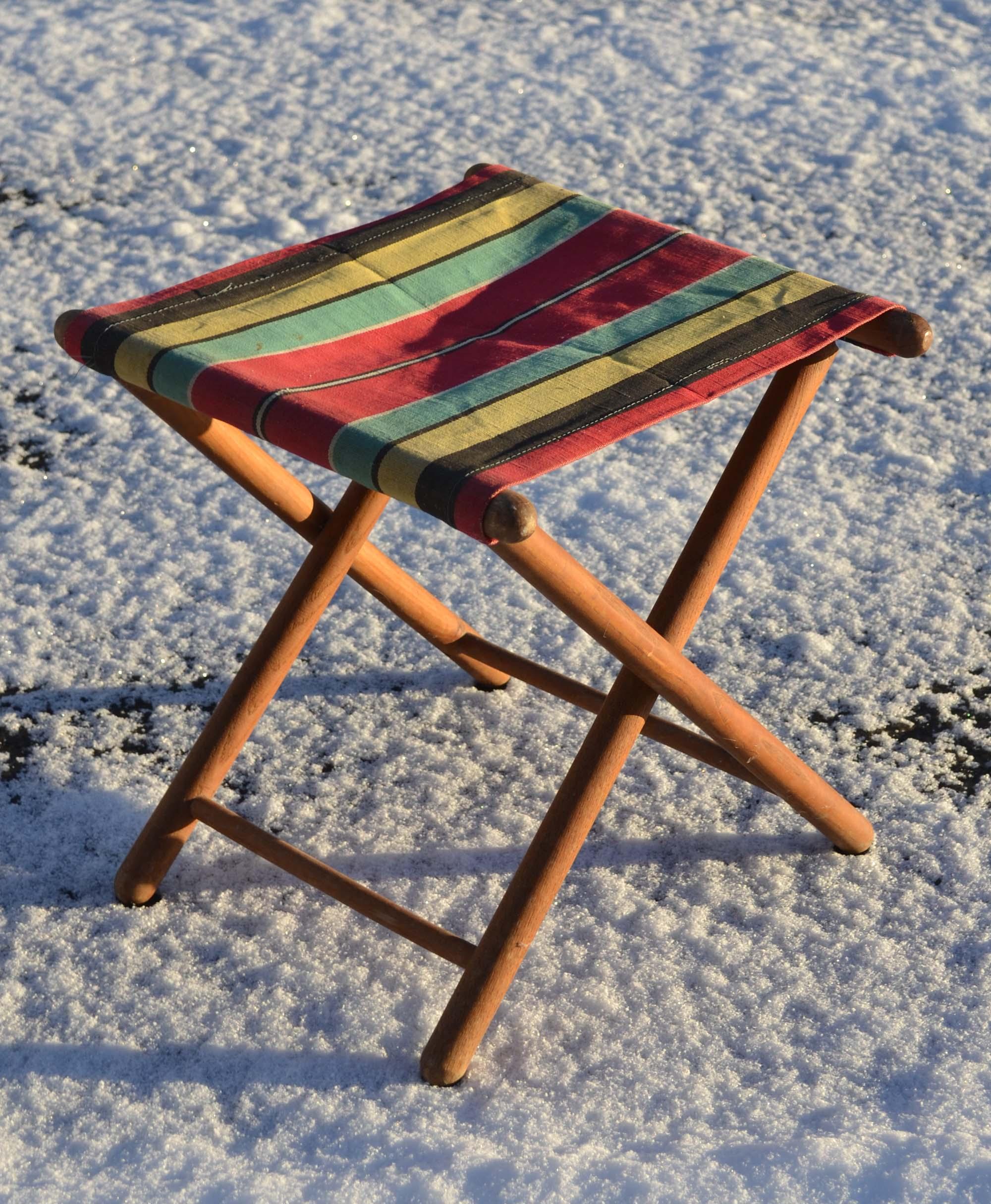 Des chaises design vintage des ann es 1950 80 de for Chaises longues bois et toile