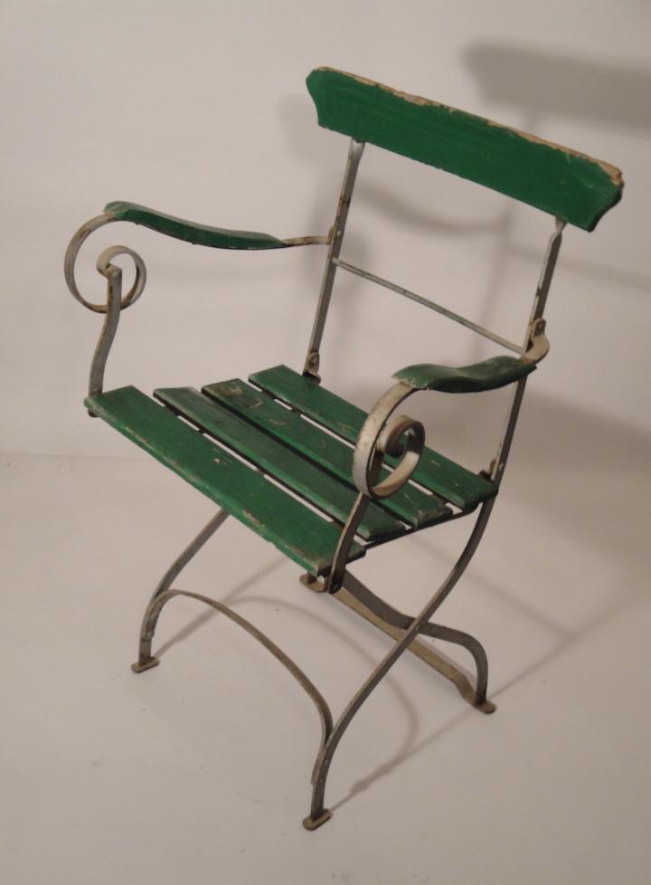 Emejing fauteuil de jardin fer forge ancien ideas design for Chaise de jardin
