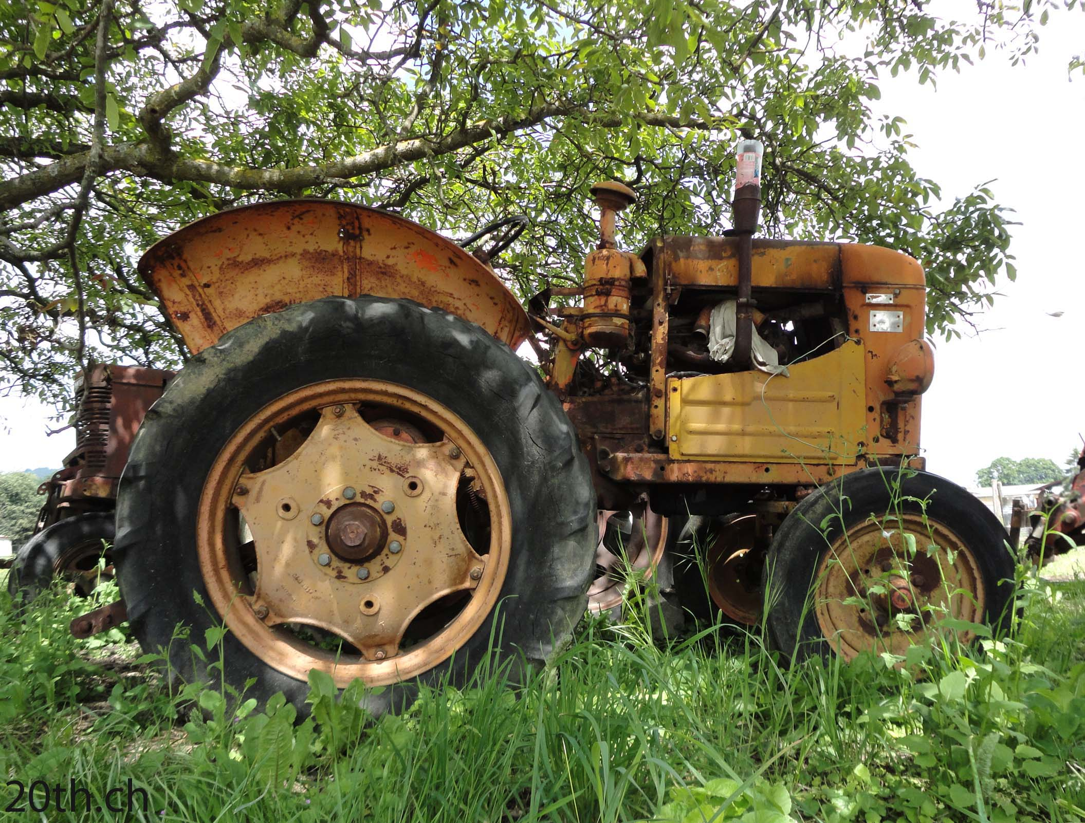des vieux tracteurs dans leur biotope naturel. Black Bedroom Furniture Sets. Home Design Ideas