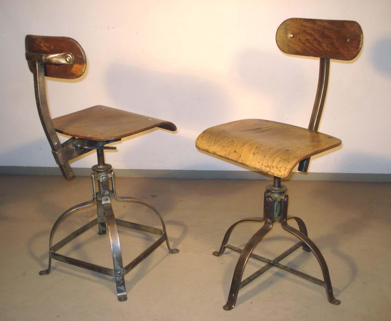 Bureau Metallique Industriel Vintage antiquités industrielles, mobilier industriel, et