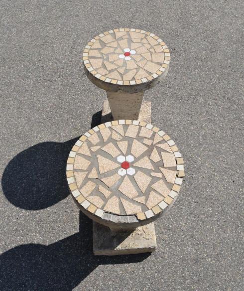 Stunning Table De Jardin Beton Mosaique Gallery - House ...