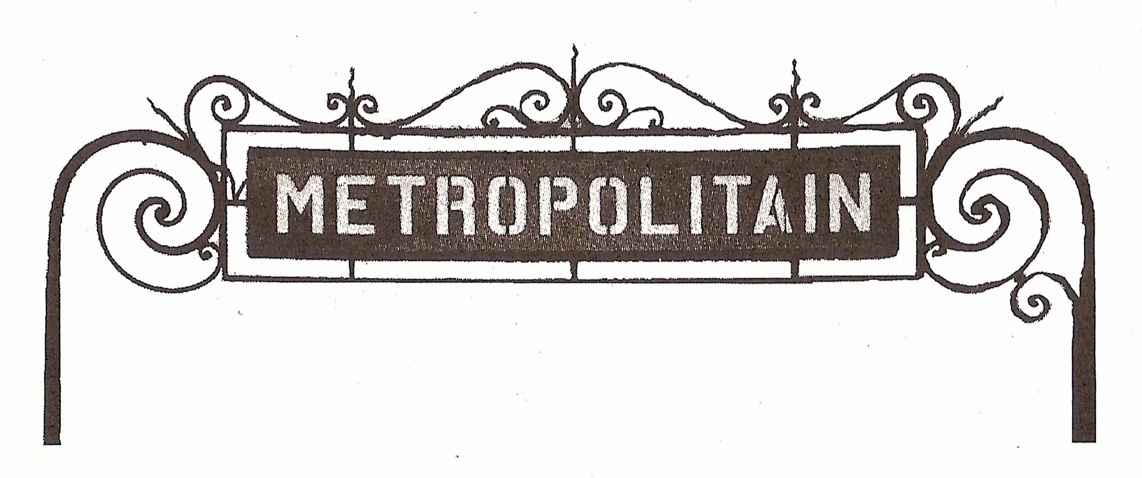 Plaque Metro Parisien Deco reproductions_d'enseignes_peintes_à_l